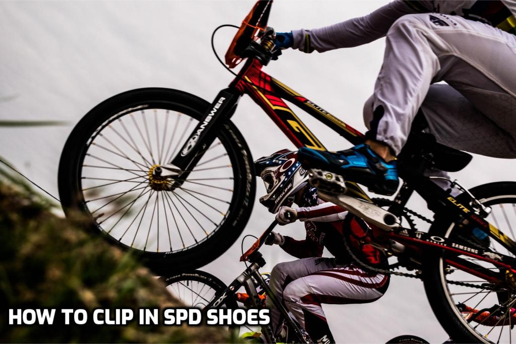 How to Clip in SPD Shoes